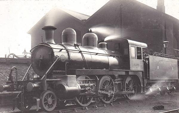 2534 - Johnson MR 'Yankee Mogul' 2-6-0 - built 1899 by Baldwin Locomotive Co. as MR No.2534 - 1907 to MR No.2223 - 1914 withdrawn.