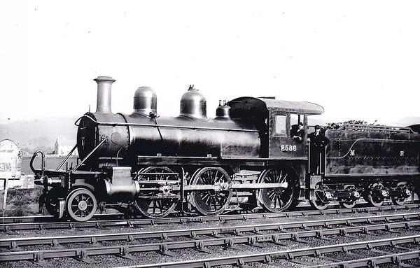 2536 - Johnson MR Class 2501 2-6-0 - built 1899 by Baldwin Locomotive Works, Philadelphia, Works No.16965 - 1907 to MR No.2225 - 1909 withdrawn.