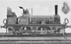 201A - North Western Railway 2-2-2WT - built 1852 by Fairbairn & Co. as NWR No.4 PENYGHENT - rebuilt as 0-4-2WT - 1871 to MR as No.201, 1889 to Duplicate List as No.201A, then to MR No.158 - 1894 withdrawn.