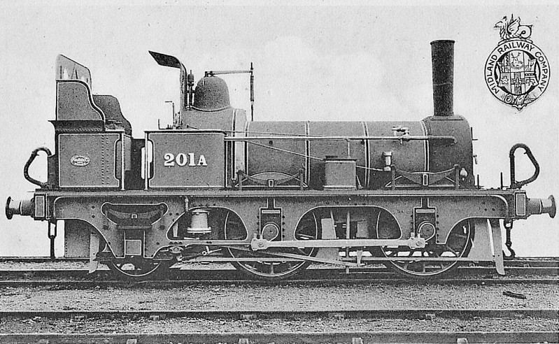 201A - MR 0-4-2WT - built 1848 as 2-2-2WT - 1875 rebuilt as 0-6-0WT (?) - 01/24 withdrawn.