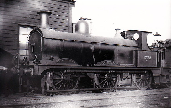 Class 1698 - 1772 - Johnson MR Class 2F 0-6-0 - built 1887 by Derby Works - 1907 to MR No.3164 - 1923 to LMS - 06/48 to BR No.58241 - 06/55 withdrawn from 84G Shrewsbury - seen here as built.