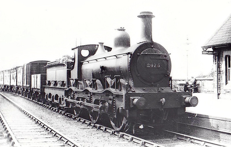 2475 - Kirtley MR Class 2F 0-6-0 - built 1899 by Neilson Reid & Co. - 1907 to MR No.3614 - 1934 withdrawn.