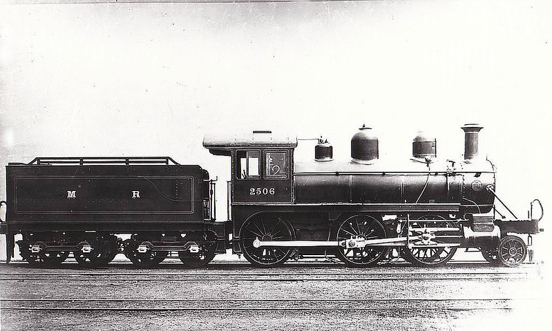 2506 - Johnson MR 'Yankee Mogul' 2-6-0 - built 1899 by Baldwin Locomotive Co. as MR No.2506 - 1907 to MR No.2205 - 1913 withdrawn - I think that this is a builder's - note no buffers fitted.