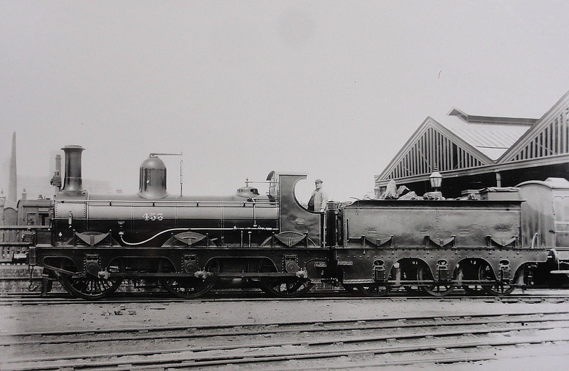 453 - Kirtley MR Class 240 0-6-0 - built 1860 by Derby Works - 1907 to MR No.2368 - 1913 withdrawn.