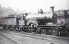 1867 - Johnson MR Class 1 4-2-2 - built 1890 by Derby Works - 1907 to MR No.624 - 1922 withdrawn.