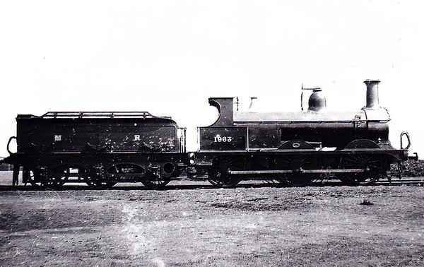 Class 1873 - 1961 - Johnson MR Class 2F 0-6-0 - built 1891 by Neilson & Co., Works No.4235 - 1907 to MR No.3290 - 1923 to LMS - 03/49 to BR No.43290 - 12/57 withdrawn from 17D Rowsley.