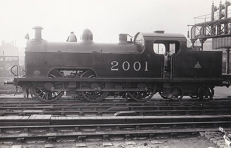 2001 - Deeley MR Class 3P Flatiron 0-6-4T - built 1907 by Derby Works - 1937 withdrawn.