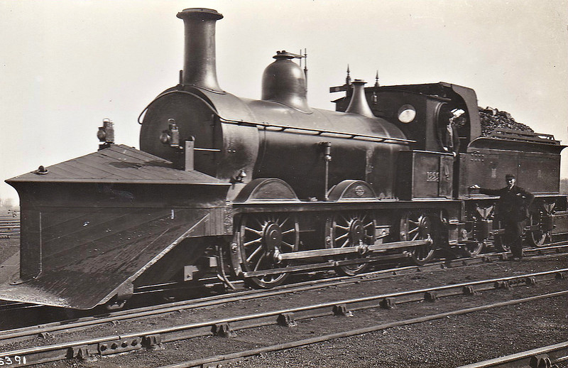 Class 1142 - 1229 - Johnson Class 1142 2F 0-6-0 - built 06/1876 by Neilson & Co., Works No.2089 - 1907 to MR No.2997 - 04/49 to BR No.58170 - 09/60 withdrawn from 41D Canklow - note tender cab.