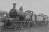 600 - Johnson MR Class 25 4-2-2 - built 1887 by Derby Works as MR No.25 - 1907 to MR No.600 - 1928 withdrawn.