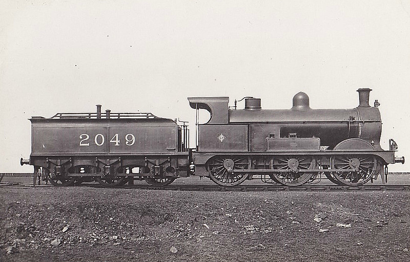 2049 - Johnson MR Class 3F 0-6-0 - built 03/1892 by Kitson & Co. as MR No.2049 - 1907 to MR No.3326, 12/48 to BR No.43326 - 07/60 withdrawn from 15C Leicester Midland.