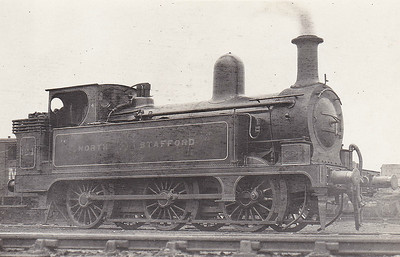 124A - Longbottom NSR Class D 2F 0-6-0T - built 12/1885 by Stoke Works as NSR No.124 - 1904 to NSR No.124A, 1923 to LMS No.1564 - 06/32 withdrawn.