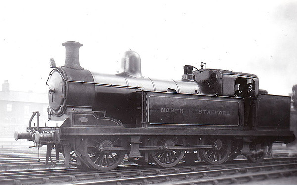 156 - Adams NSR Class DX 2F 0-6-2T - built 05/02 by Stoke Works - 1923 to LMS No.2238 - 09/31 withdrawn.