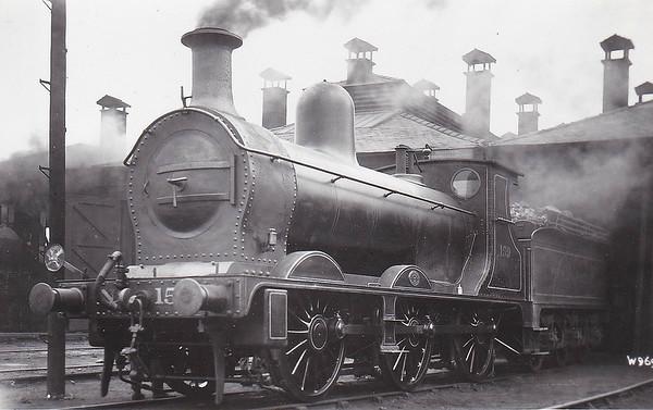 159 - Longbottom NSR Class 159 2F 0-6-0 - built 12/00 by Nasmyth Wilson & Co., Works No.588 - 1923 to LMS No.2351, 1928 to LMS No.8673 - 10/36 withdrawn.
