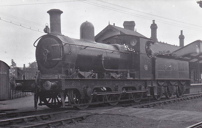 No.14 - 0-6-0 - built 1903 by Beyer Peacock & Co., Works No.4633, for the E&WJR - 1923 to LMS No.2307 - 1927 withdrawn - seen here at Stratford, 09/22.