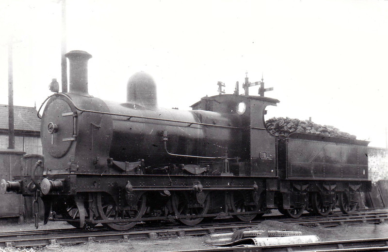 No.18 - 0-6-0 - built 1908 by Beyer Peacock & Co., Works No.5103  - ordered by E&WJR but entered traffic with SMJR - 1923 to LMS No.2311 - 1927 withdrawn - seen here at Stratford MPD, 09/22.