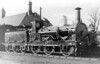 No.4 - 0-6-0 - built 1885 by Beyer Peacock & Co., Works No.2626 - 1923 to LMS as No.2302 -1929 withdrawn - seen here at Stratford Old Town in the 1890's.