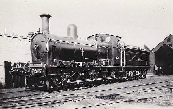 No.15 - 0-6-0 - built 1905 by Beyer Peacock & Co. for the E&WJR - 1923 to LMS No.2308 - 1924 withdrawn.