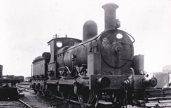 No.2 - 0-6-0 - built 1903 by Beyer Peacock & Co. for the E&WJR - 1923 to LMS No.2300 - 1926 withdrawn - seen here at Stratford, 09/22.