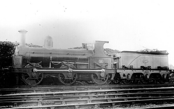 No.2 - 0-6-0 - built 1903 by Beyer Peacock & Co. for the E&WJR - 1923 to LMS No.2300 - 1926 withdrawn