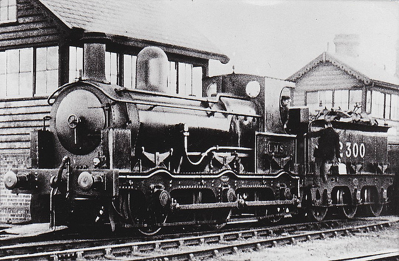 No.2 - 0-6-0 - built 1880 by Beyer Peacock & Co., Works No.1919, for the E&WJR - 1923 to LMS No.2300 - 1927 withdrawn.