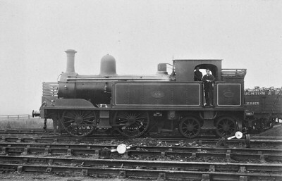 No.8 - 0-4-4T - built 1888 by Beyer Peacock Ltd, Works No.2863 - 1924 withdrawn.