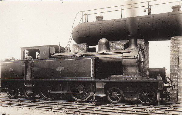 No.14 - 4-4-4T - built 1903 by Beyer Peacock & Co., Works No.4493 - 1924 withdrawn.
