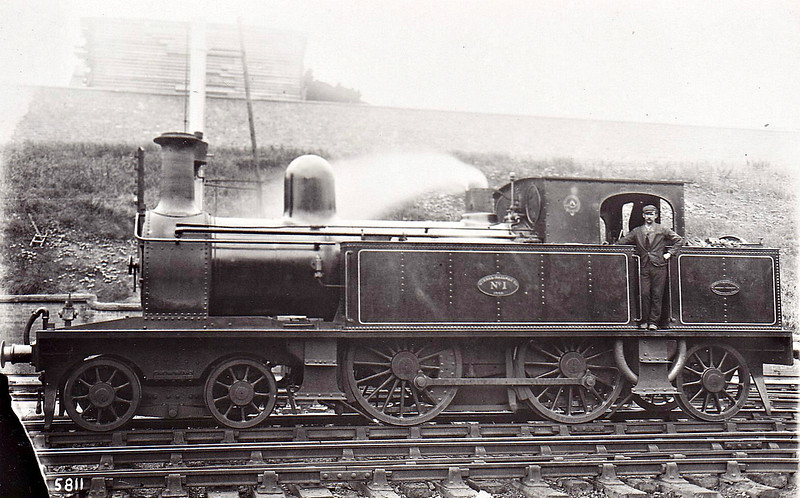 No.1 - 4-4-2T - built 1892 by Beyer Peacock & Co., Works No.3465 - 1923 to LMS No.6830 - 02/24 withdrawn.
