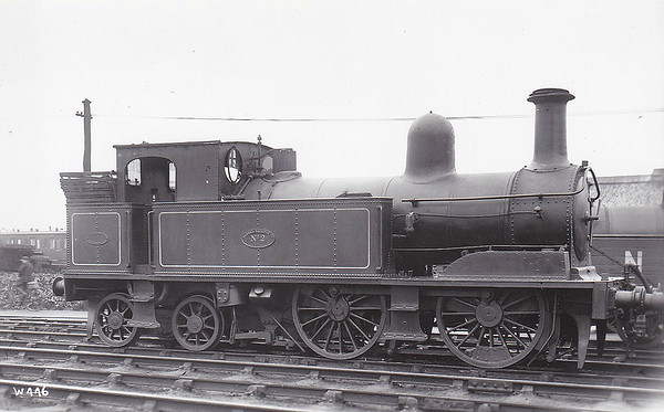 No.2 - 0-4-4T - built 04/1887 by Beyer Peacock & Co., Works No.2863 - 1921 withdrawn.