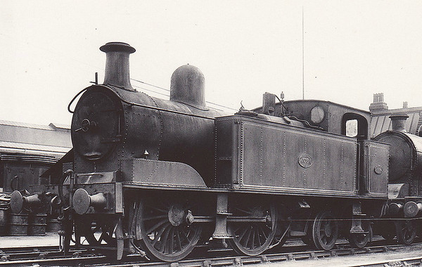 No.3 - 0-4-4T - built 1914 by Beyer Peacock & Co., Works No.5742 - 1923 to LMS No.6776 - 07/28 withdrawn.