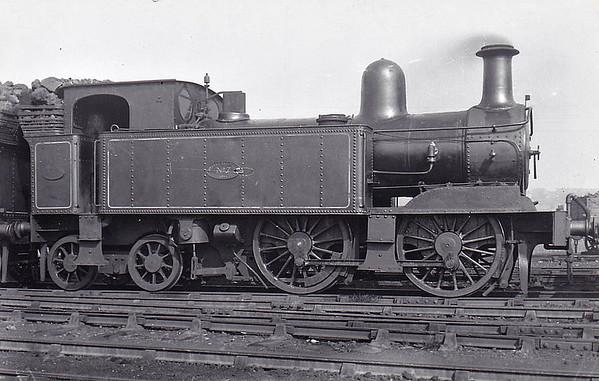No.7 - 0-4-4T - built 1894 - seen here at Birkenhead Dock, 09/23.