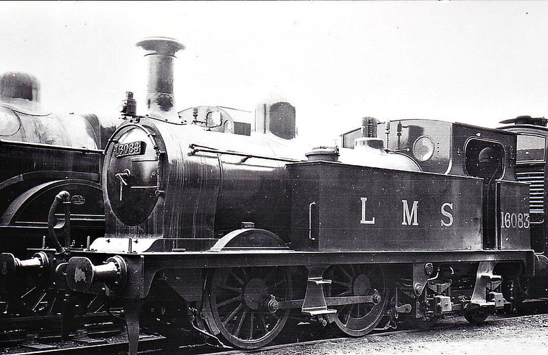 GSWR - Manson GSWR Class 266 0-4-4T - built 06/06 by Kilmarnock Works as GSWR No.269 - 1919 to GSWR No.308 - 1923 to LMS No.16083 - 1930 withdrawn.