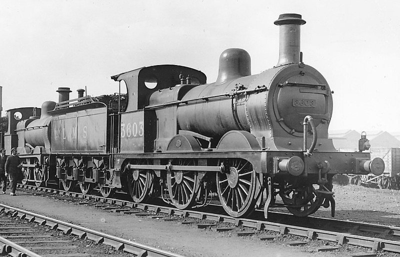 MR - 3603 - Johnson MR Class 1873 2F 0-6-0 - built 11/1899 by Neilson & Co. as MR No.2464 - 1907 to MR No.3603, 10/48 to BR No.58295 - 11/60 withdrawn from 3B Bushbury - seen here at Derby, 03/33.