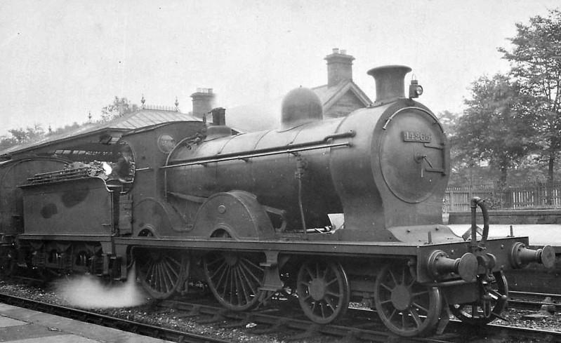 GSWR - 14265 - Manson GSWR Class 240 4-4-0 - built 12/06 by Kilmarnock Works as GSWR No.265 - 1919 to GSWR No.393 - 1923 to LMS No.14265 - 10/31 withdrawn.