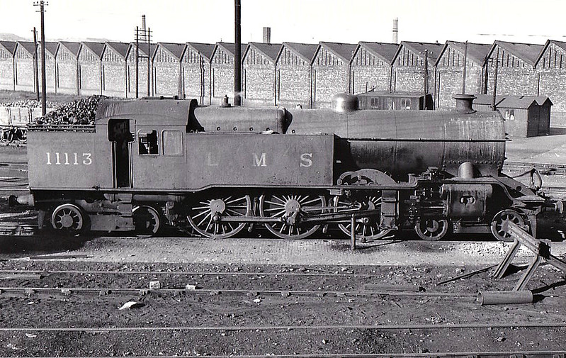 LYR - 11113 - Hughes LYR/LMS Class 5P 4-6-4T - built 05/24 by Horwich Works - 03/39 withdrawn from Loctock Hall MPD.
