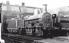 LNWR - 8584 - Webb LNWR Class 2F 'Cauliflower' 0-6-0 - built 02/01 by Crewe Works as LNWR No.542 - 01/27 to LMS No.8554 - 12/32 withdrawn - seen here at Patricroft MPD, 07/31.