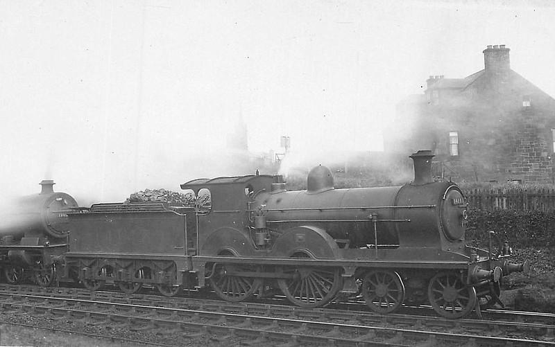 GSWR - 14143 - Smellie GSWR Class 153 4-4-0 - built 05/1886 by Kilmarnock Works as GSWR No.154 - 1919 to GSWR No.466 - 1923 to LMS No.14143 - 11/35 withdrawn.