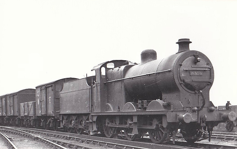 LMS - 4314 - Fowler LMS Class 4F 0-6-0 - built 12/27 by St Rollox Works - 05/48 to BR No.44314 - 07/62 withdrawn from 63A Perth South.