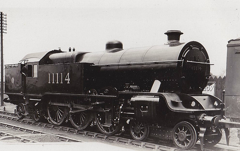 LYR - 11114 - Hughes LYR/LMS Class P1 'Dreadnought Tank' 4-6-4T - built 05/24 by Horwich Works as LYR No.1688 (not applied) - 07/41 withdrawn from Lostock Hall MPD.