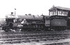 LMS - 5695 MINOTAUR - Stanier LMS 'Jubilee' Class 4-6-0 - built 03/36 by Crewe Works - 10/48 to BR No.45695 - 02/64 withdrawn from 25D Farnley Junction - seen here at Rugby, 1946 - broken up on site after running into the back of a freight train at Altrincham.