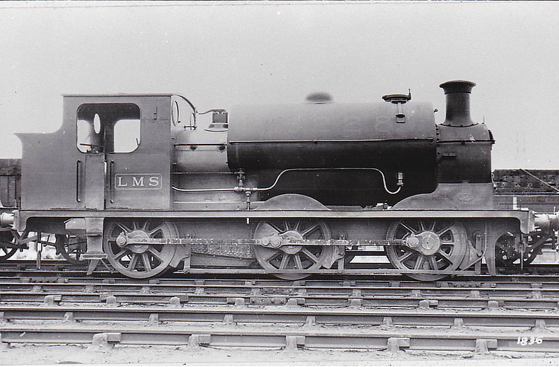 CR - 16228 - Lambie CR Class 211 0-6-0ST - built 1895 by St Rollox Works as CR No.214 - 1923 to LMS No.16228 - 1929 withdrawn.