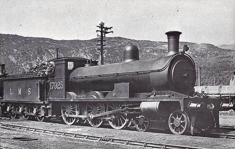 HR - 17925 - Jones HR Goods Class 4-6-0 - built 1894 by Sharp Stewart as HR No.112 - 1923 to LMS No.17925 - seen here at Aviemore,
