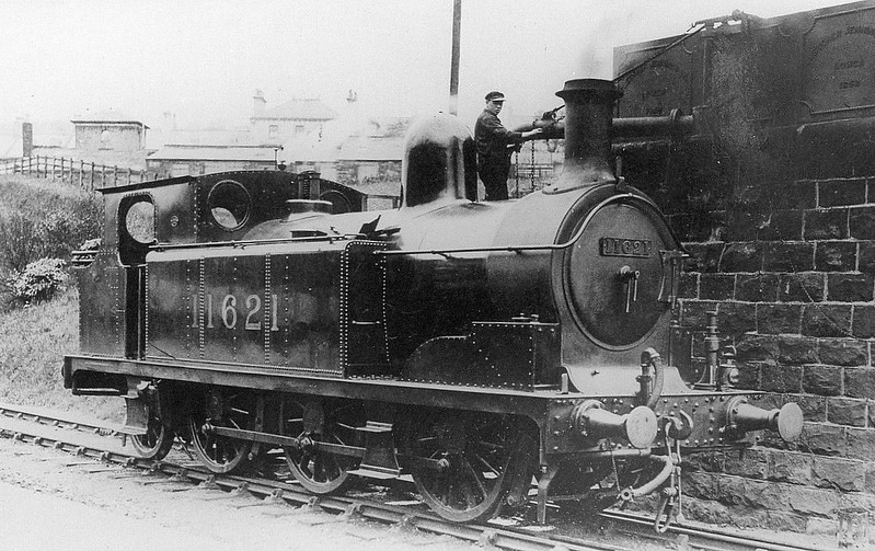 LYR - 11621 - Barton-Wright LYR Class 243 0-6-2T - built 1883 by Dubs & Co. as LYR No.190 - 1900 to LYR No.218, 1923 to LMS No.11621 - 1930 withdrawn.