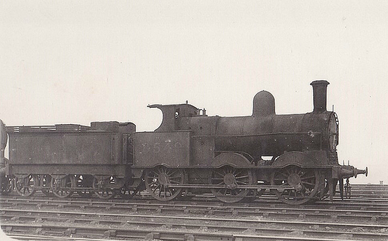 LNWR - 8549 - Webb LNWR Class 2F 'Cauliflower' 0-6-0 - built 10/00 by Crewe Works as LNWR No.540 - 08/28 to LMS No.8549, 07/42 to LMS No.28549 - BR No.58410 not applied - 11/50 withdrawn from 10E Sutton Oak.
