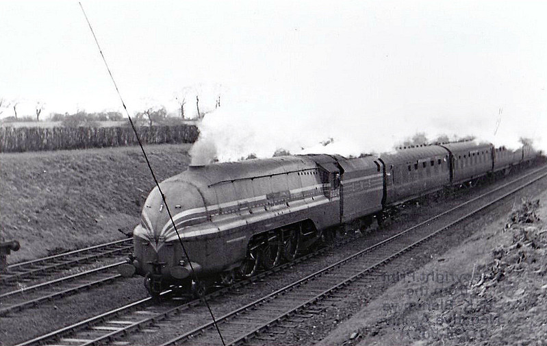 LMS - 6224 PRINCESS ALEXANDRA - Stanier LMS Coronation Class 4-6-2 - built 07/37 by Crewe Works - 05/48 to BR No.46224 - 10/63 withdrawn from 66A Polmadie.