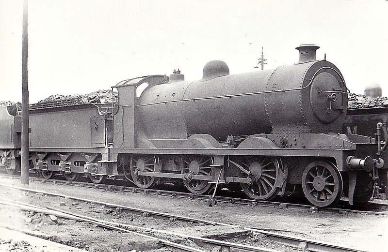 GSWR - 17827 - Drummond GSWR Class 403 2-6-0 - built 09/15 by North British Loco Co. as GSWR No.408 - 1915 to GSWR No.99, 1919 to GSWR No.58, 1924 to LMS No.17827 - 04/38 withdrawn - seen here at Corkerhill.