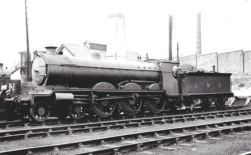 CR - 14630 - Pickersgill CR/LMS Class 60 4P 4-6-0 - built 07/25 by St Rollox Works - 01/48 to BR No.54630 - 01/51 withdrawn from 28A Motherwell - seen here at Polmadie, 08/32