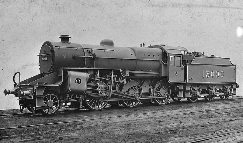 LMS - 13000 - Hughes LYR/LMS Class 5MT Crab 2-6-0 - built 06/26 by Horwich Works - 11/34 to LMS No.2700, 09/48 to BR No.42700 - 03/66 withdrawn from 8H Birkenhead Mollington Street.