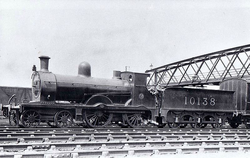 FR - 10138 - Pettigrew FR 'Larger Seagull' Class K2 4-4-0 - built 1896 by Sharp Stewart & Co. as FR No.35 - 1923 to LMS No.10138 - 1929-31 withdrawn - seen here at Barrow.