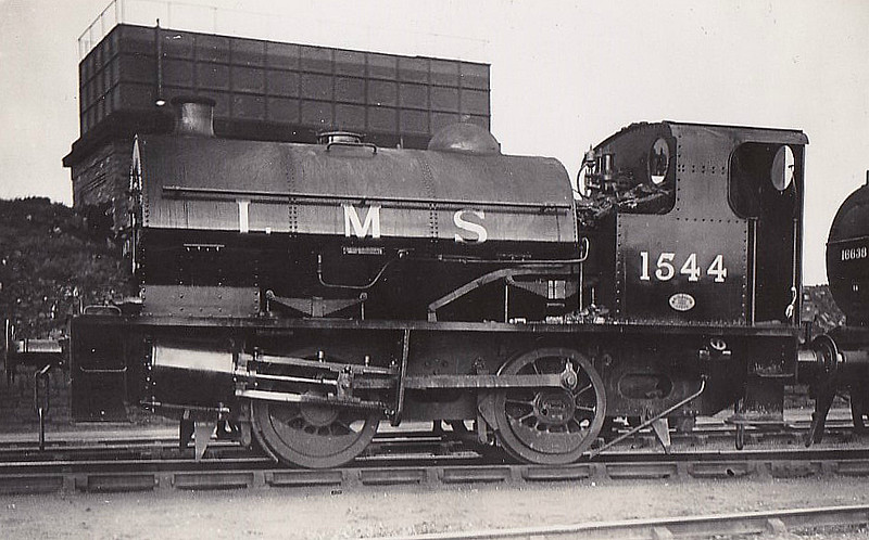 LMS - 1544 - Fowler LMS Class 0F 0-4-0ST - built 12/32 by Kitson & Co. as LMS No.1544 - 1934 to LMS No.7004, 06/48 to BR No.47004 - 01/64 withdrawn from 18C Hasland.
