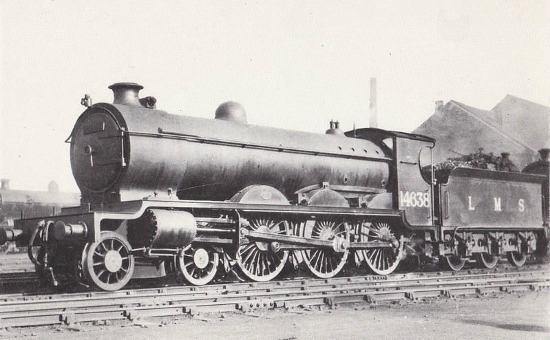 CR - 14638 - Pickersgill CR/LMSR Class 60 4P 4-6-0 - built 07/26 by St Rollox Works - 1948 to BR No.54638 - 05/51 withdrawn from 66C Hamilton.